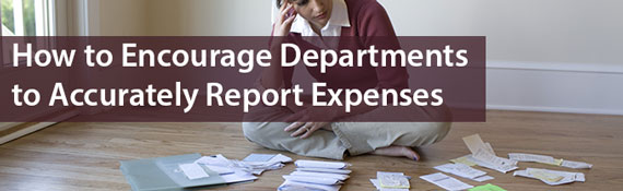 encourage-departments-report-accurate-expenses