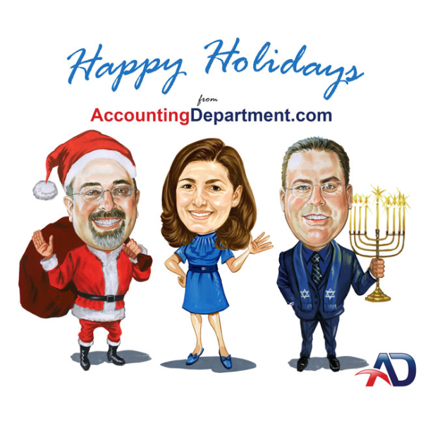 Happy Holidays from AccountingDepartment.com!