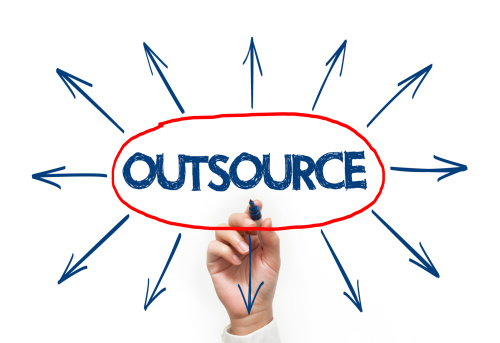 outsource work to independent contractors