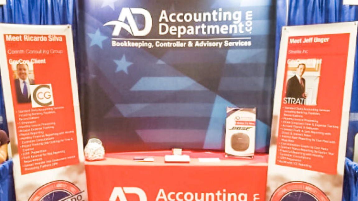 DCAA compliant accounting tradeshow