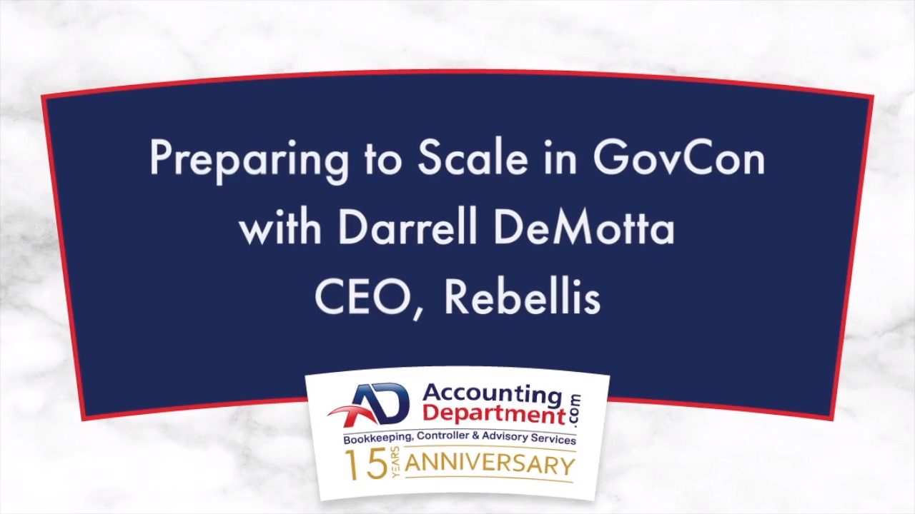 preparing to scale in government contracting - client testimonial